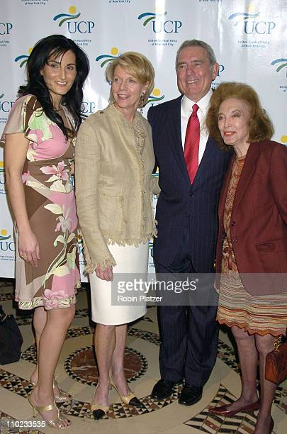 Tamara Tunie Cathie Black Dan Rather and Helen Gurley Brown