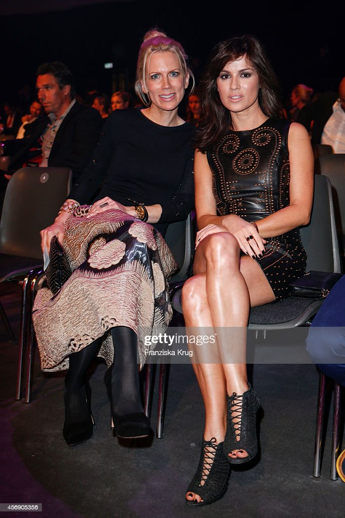 Tamara von Nayhauss and Natalia Avelon attend the Tribute To Bambi 2014 on September 25 2014 in Berlin Germany