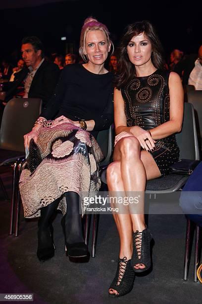 Tamara von Nayhauss and Natalia Avelon attend the Tribute To Bambi 2014 on September 25 2014 in Berlin Germany