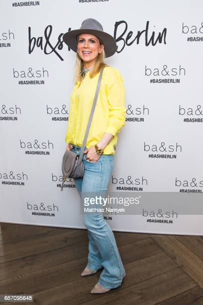 Tamara von Nayhauss attends the BaSh store opening on March 23 2017 in Berlin Germany