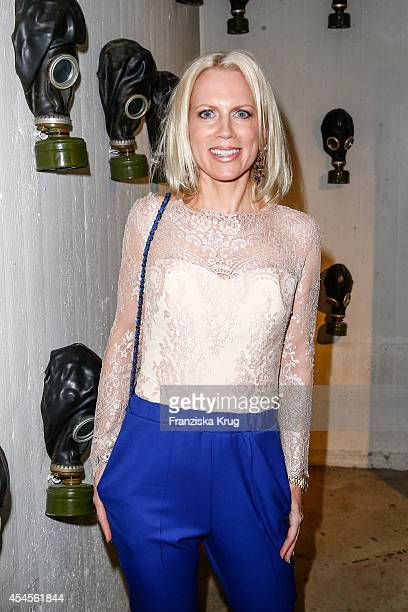 Tamara von Nayhauss attends the Blurry Garden Couture Collection Presentation in a nuclear bunker on September 03 2014 in Berlin Germany