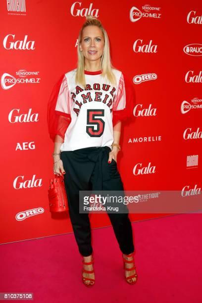 Tamara von Nayhauss attends the Gala Fashion Brunch during the MercedesBenz Fashion Week Berlin Spring/Summer 2018 at Ellington Hotel on July 7 2017...