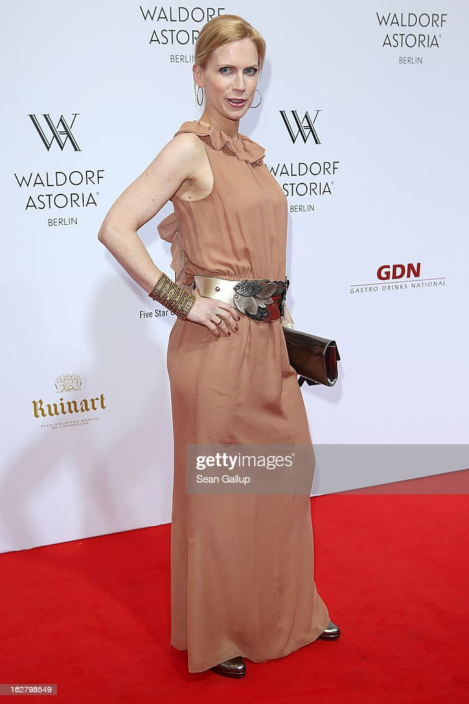 Tamara von Nayhauss attends 'Waldorf Astoria Berlin Grand Opening' at Waldorf Astoria Berlin on February 27, 2013 in Berlin, Germany.