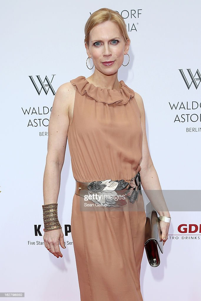 Tamara von Nayhauss attends 'Waldorf Astoria Berlin Grand Opening' at Waldorf Astoria Berlin on February 27, 2013 in Berlin, Germany.