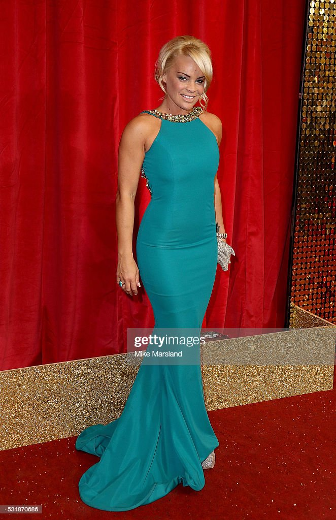 Tamara Wall attends the British Soap Awards 2016 at Hackney Empire on May 28, 2016 in London, England.