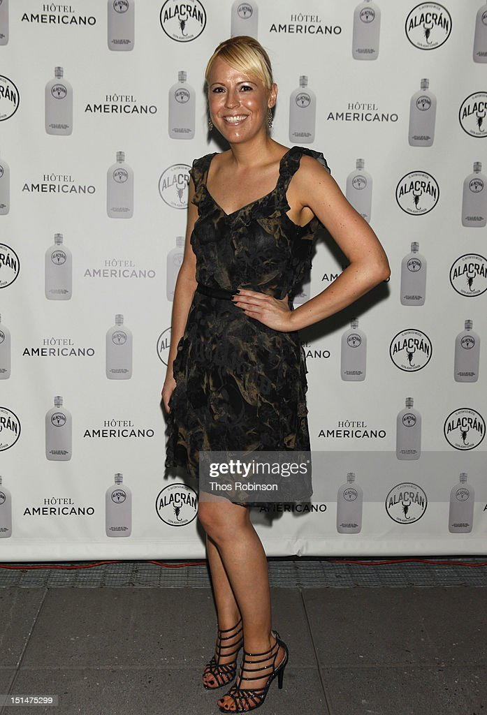 Tamara York attends Autentico Tequila Alacran Debuts Their Mezcal Alacran at Hotel Americano In NYC on September 7, 2012 in New York City.