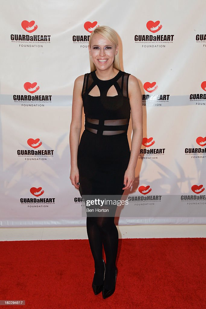 Tamara York attends the GUARDaHEART Foundation World Heart Day 2013 celebration gala on September 28, 2013 in Santa Ana, California.