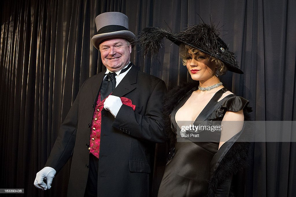Tamarah Peterson and Joe Monroe at the Sodo Comes Alive event at at Aston Manor on March 8, 2013 in Seattle, Washington.