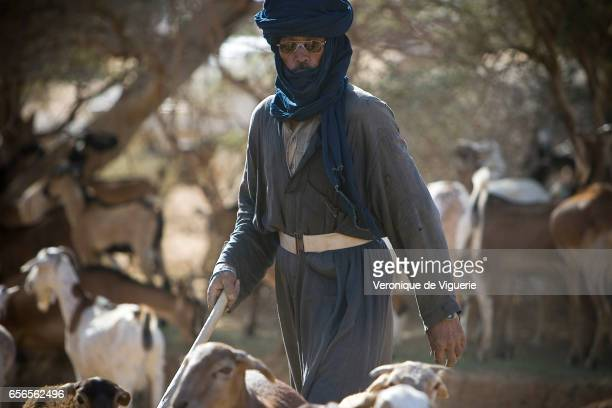 Tamashek Tuaregs in Essouk They are nomadic pastoralists
