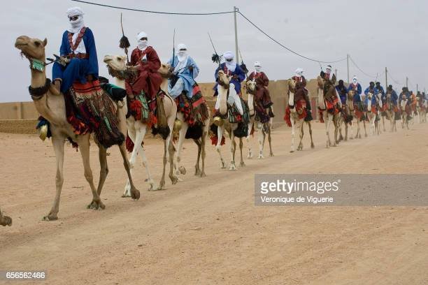 Tamashek Tuaregs in Kidal They are nomadic pastoralists