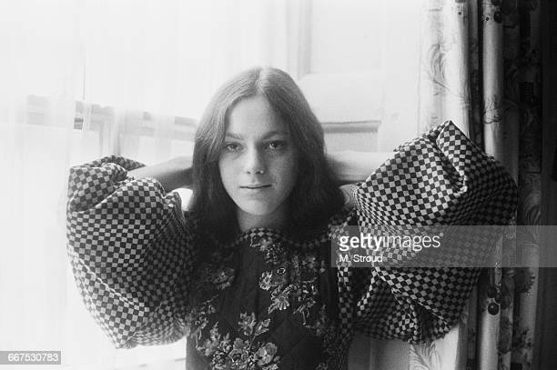 Tamasin DayLewis whilst an undergraduate at King's College Cambridge UK 19th December 1971 She is the daughter of poet Cecil DayLewis and actress...