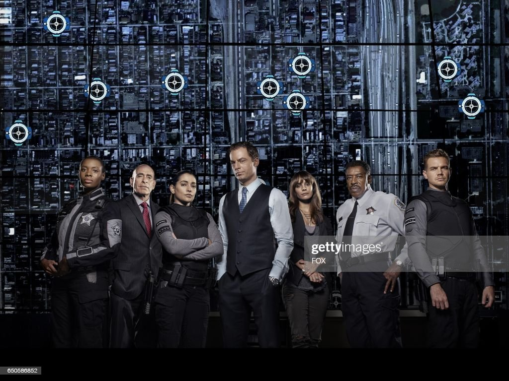 Tamberla Perry, Nestor Serrano, Natalie Martinez, Justin Kirk, Caitlin Stasey, Ernie Hudson and Taylor Handley in APB premiering Monday, Feb. 6 (9:01-10:00 PM ET/PT) on FOX.