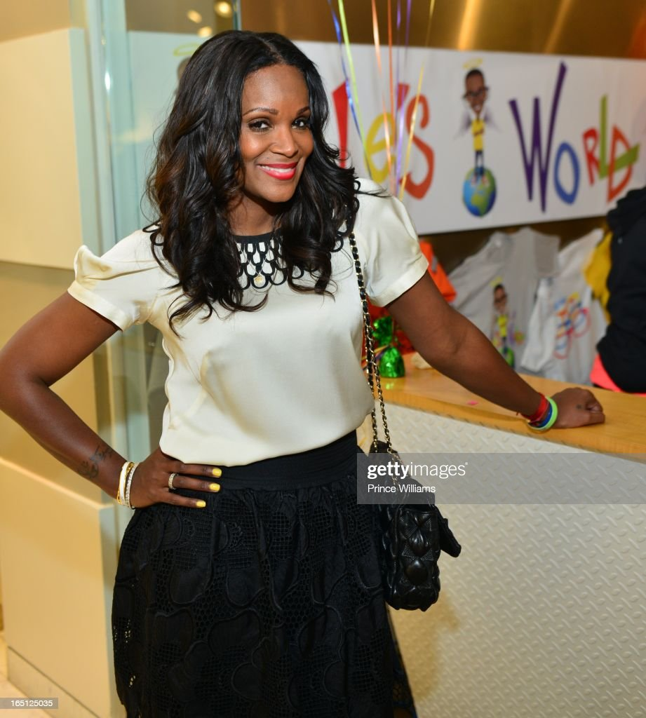 Tameka Foster attends the birthday and foundation lanuch Kile's World to honor Kile Glover at the Woodruff Arts Center on March 29, 2013 in Atlanta, Georgia.