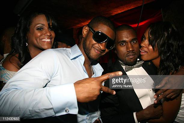 Tameka Foster Usher Kanye West and Alexis Phifer