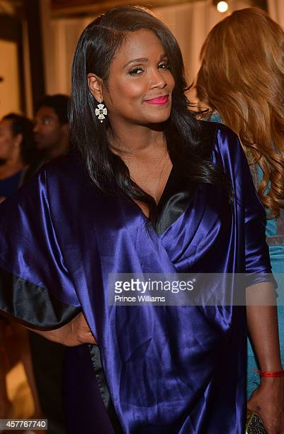 Tameka Raymond attends The Foundry At Puritan Mill on October 22 2014 in Atlanta Georgia