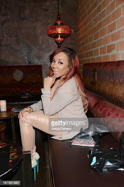 Tameka 'Tiny' Harris attends the Emmett/Furla/Oasis Films hosts celebration for the upcoming production of 'Tupac' at Zanzibar on November 7 2013 in...