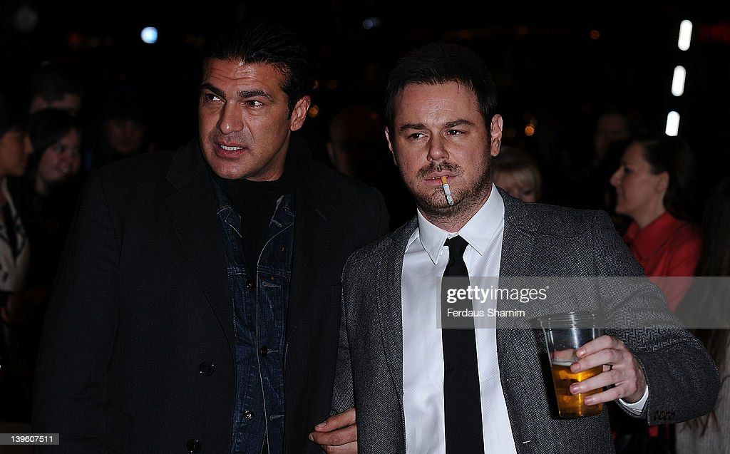 Tamer Hassan and Danny Dyer attend the world premiere of 'Deviation' at Odeon Covent Garden on February 23, 2012 in London, England.