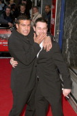 Tamer Hassan and Danny Dyer during 'The Football Factory' London Premiere Arrivals at Odeon Covent Garden in London Great Britain
