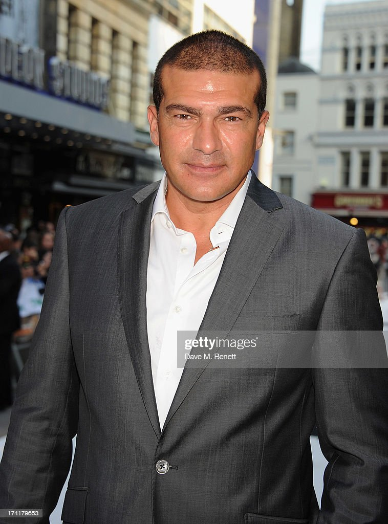 Tamer Hussein attends the UK Premiere of 'The Lone Ranger' at Odeon Leicester Square on July 21, 2013 in London, England.