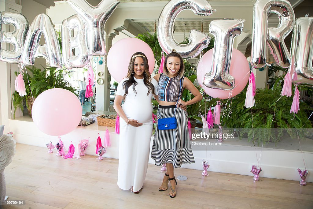 housley l and jeannie mai attend tamera mowry housley 39 s baby shower