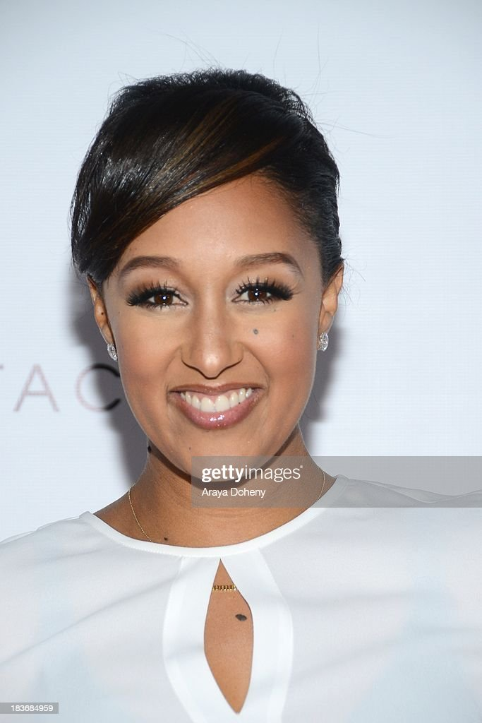 Tamera Mowry-Housley arrives at the Tacori's annual Club Tacori 2013 event at Greystone Manor Supperclub on October 8, 2013 in West Hollywood, California.