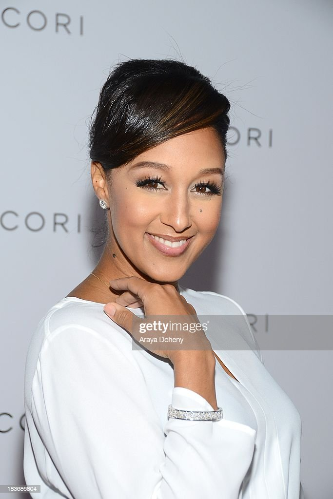 <a gi-track='captionPersonalityLinkClicked' href=/galleries/search?phrase=Tamera+Mowry&family=editorial&specificpeople=798679 ng-click='$event.stopPropagation()'>Tamera Mowry</a>-Housley arrives at the Tacori's annual Club Tacori 2013 event at Greystone Manor Supperclub on October 8, 2013 in West Hollywood, California.