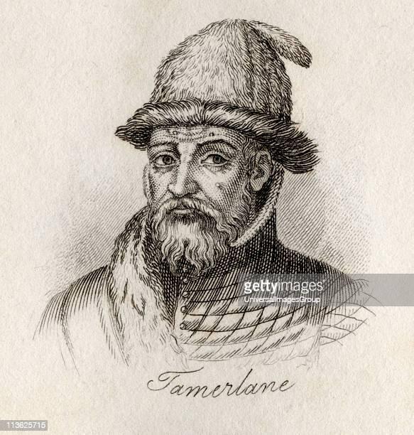 Tamerlane 13361405 also known as Temur Taimur Timur Lenk Timur i Leng Tamburlaine or TaimureLang MongolTurkic conqueror ruler of the Timurid...