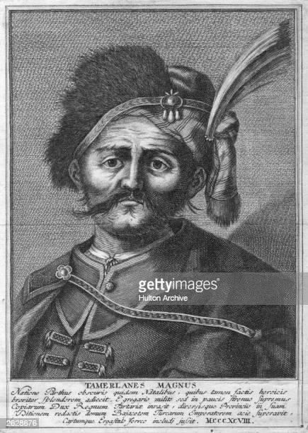 Tamerlane or Tamburlaine Tartar conqueror circa 1370
