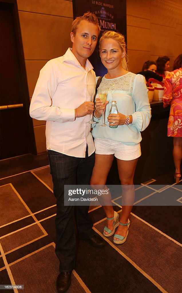 Tameyr Norton and Matt Mickiewicz attend Chicken Coupe Dinner at W South Beach Hotel & Residences on February 23, 2013 in Miami Beach, Florida.