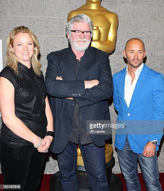 Tami Lane Peter Swords King and Rick Findlater attend The Academy Of Motion Picture Arts And Sciences Presents Oscar Celebrates Makeup And...