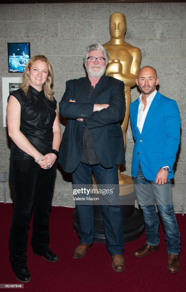 Tami Lane, Peter Swords King and Rick Findlater attends The Academy Of Motion Picture Arts And Sciences Presents Oscar Celebrates: Makeup And Hairstyling at the Academy of Motion Picture Arts and Sciences on February 23, 2013 in Beverly Hills, California.