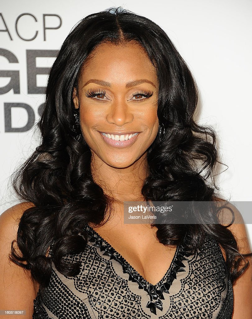 Tami Roman attends the 44th NAACP Image Awards at The Shrine Auditorium on February 1, 2013 in Los Angeles, California.