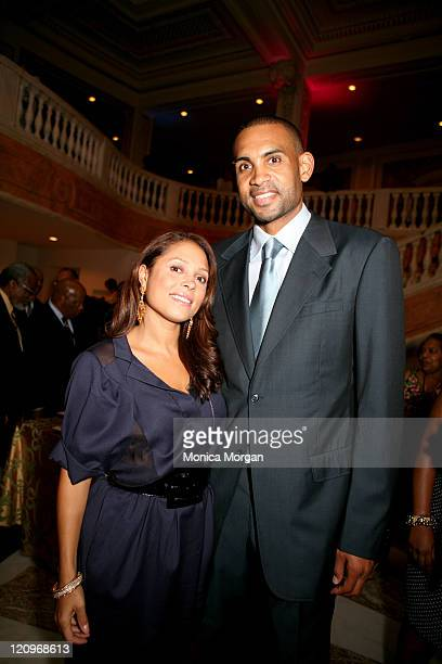 Tamia Hill and Grant Hill during Opening of the Congressional Black Caucus in Washington DC United States