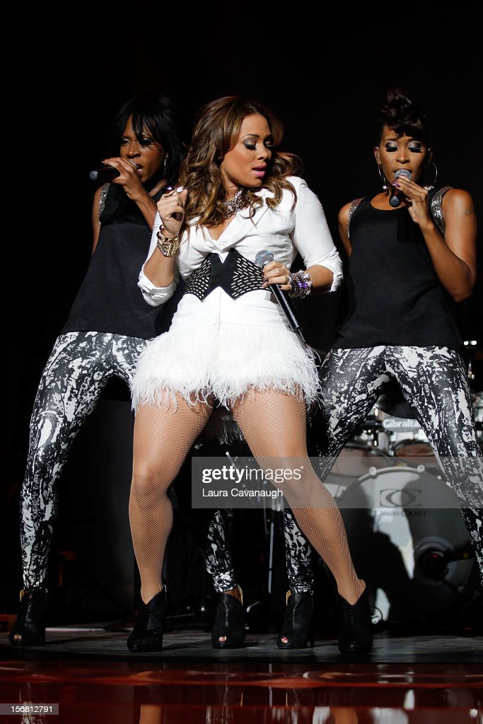 Tamia performs at MSG Theater on November 21, 2012 in New York City.
