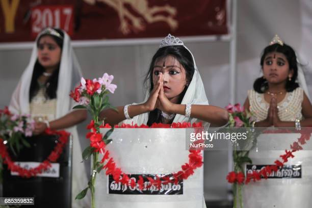 Tamil youth perform an emotional dance honoring the dead and showcasing the atrocities committed by the Sri Lankan Army during Tamil Genocide...