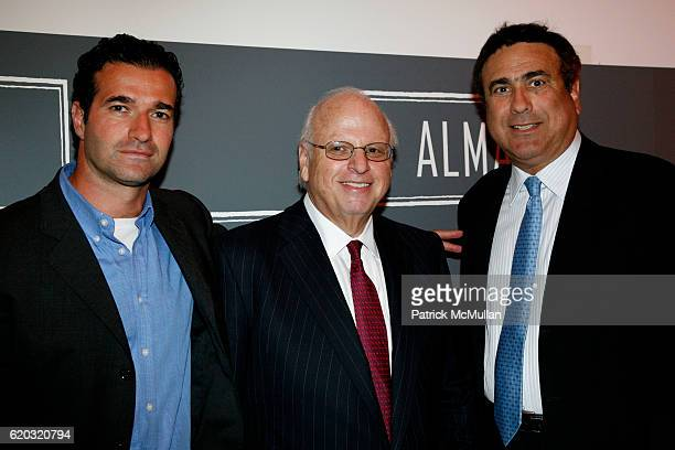 Tamir Shemesh Howard Lorber and guest attend ALMA 'An Evening of Soul' at Alma 30 W 21st St on June 25 2008 in New York City