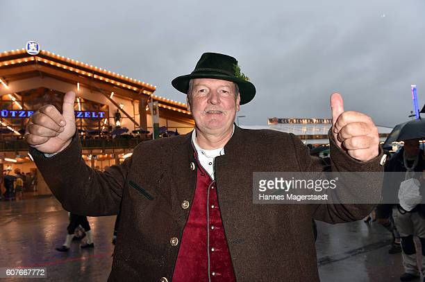 Tamme Hanken during the Oktoberfest at Theresienwiese on September 18 2016 in Munich Germany