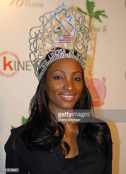 Tammie Garr Miss Liberia during 2006 Snow Ball Children's Benefit at Bungalow 8 in New York City New York United States