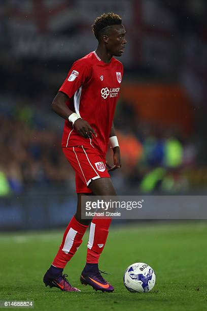 Tammy Abraham of Bristol City during the Sky Bet Championship match between Cardiff City and Bristol City at Cardiff City Stadium on October 14 2016...