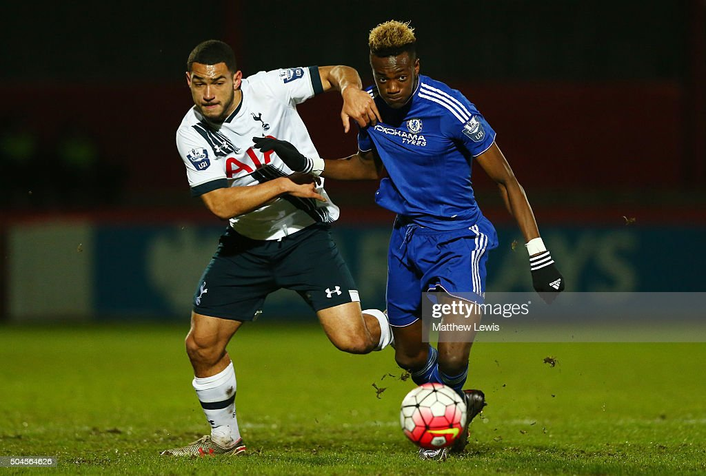 Tottenham Hotspur U21 v Chelsea U21: Barclays U21 Premier League : News Photo