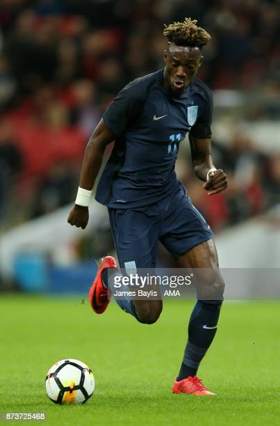 Tammy Abraham of England during the International Friendly fixture between Germany and England at Wembley Stadium on November 10 2017 in London...