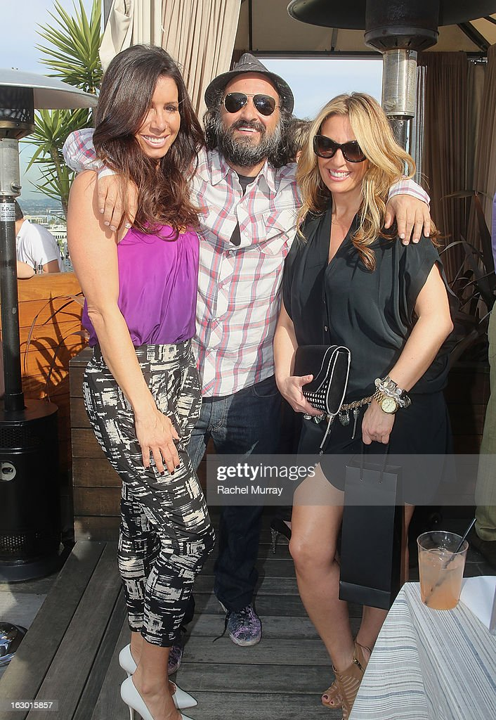 Tammy Brook, Mr Brainwash, and Bari Medgaus attend Flaunt Magazine and Samsung Galaxy celebrate The Plutocracy Issue release hosted by cover Russell Westbrook at Caulfield's Bar and Dining Room at Thompson Hotel on March 2, 2013 in Beverly Hills, California.