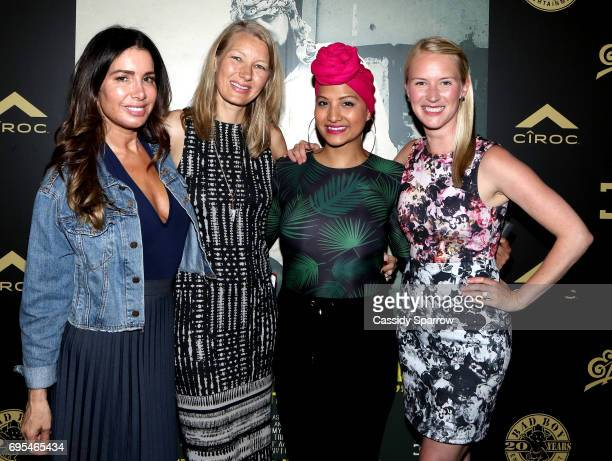 Tammy Brook Nyla Rodgers Nalie Agustin and Katie Carey Nivard attend French Montana PROJECT UNFORGETTABLE 'MY STORY THEIR REALITY' Documentary...