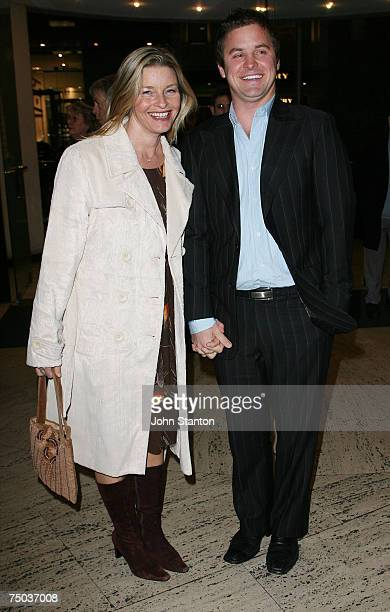 Tammy Macintosh and Mark Yates attend the opening night performance of new stage production 'Company' at the Theatre Royal on July 5 2007 in Sydney