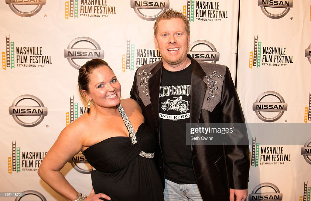 Tammy Runnels and Beau Braswell attends the 2013 Nashville film festival at Green Hills Regal Theater on April 24, 2013 in Nashville, Tennessee.