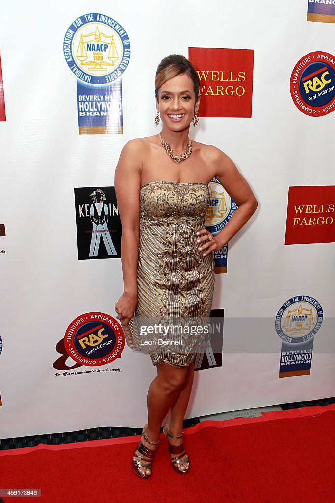 Tammy Townsend arrived at the 24th Annual NAACP Theatre Awards at Saban Theatre on November 17 2014 in Beverly Hills California