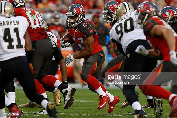 Tampa Bay Buccaneers running back Doug Martin runs the ball during the NFL game between the New Orleans Saints and Tampa Bay Buccaneers on December...