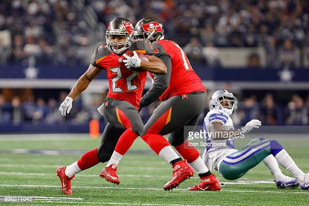 Tampa Bay Buccaneers Running Back Doug Martin rushes during the NFL Sunday night game between the Tampa Bay Buccaneers and Dallas Cowboys on December...