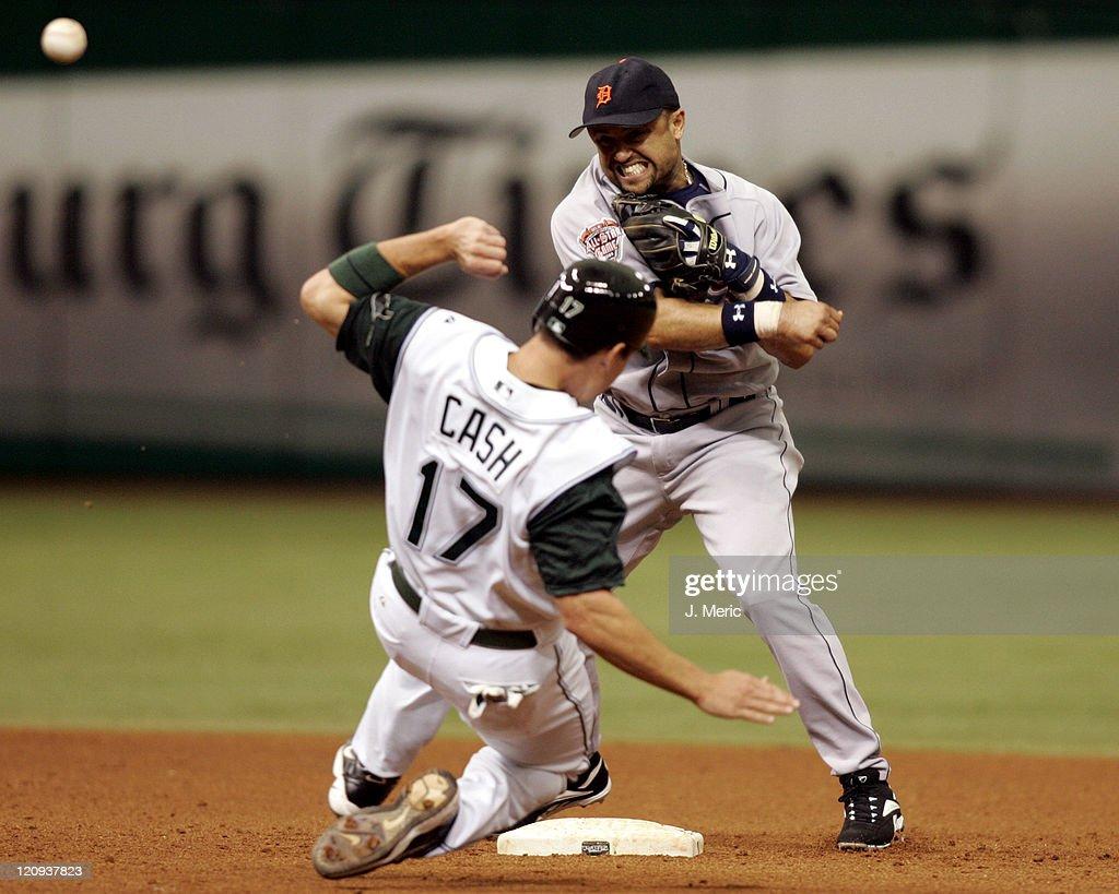 Detroit Tigers vs Tampa Bay Devil Rays - July 10, 2005