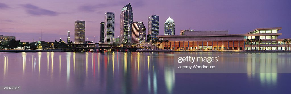 Tampa in evening
